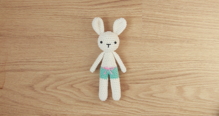 Free amigurumi bunny pattern by Little Bear Crochets