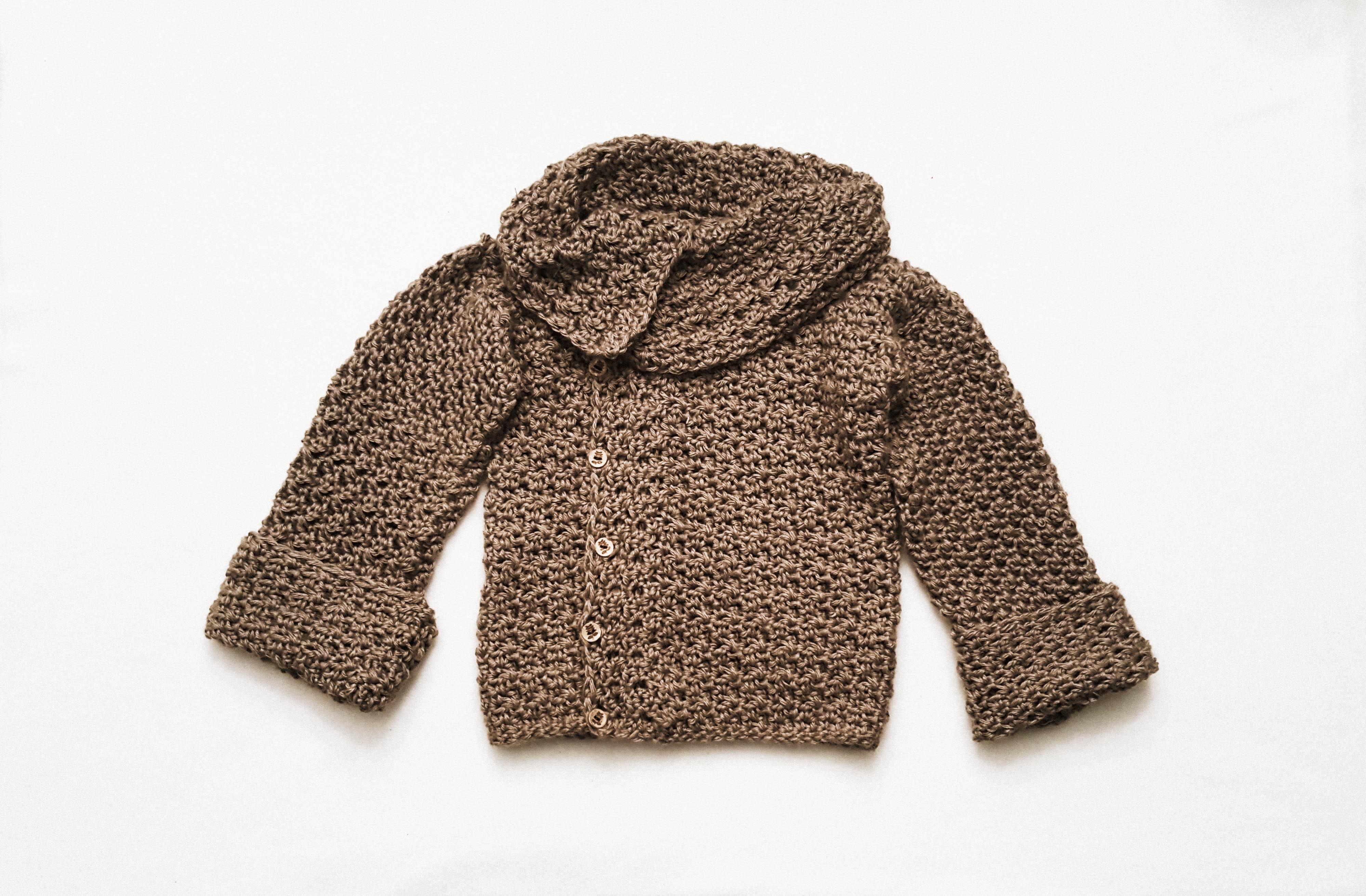 Toddler Crochet Sweater Pattern By Montano Hobium Blog