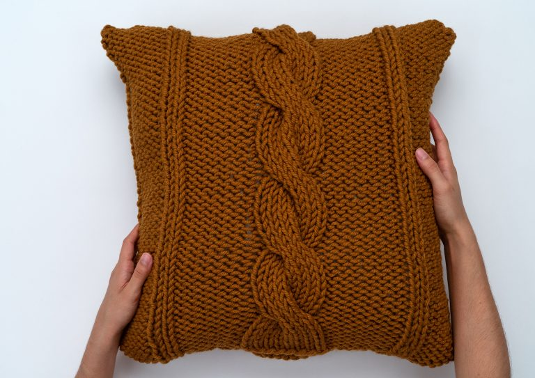 The Cable Knit Pillow Cover Pattern by BrennaAnnHandmade ...
