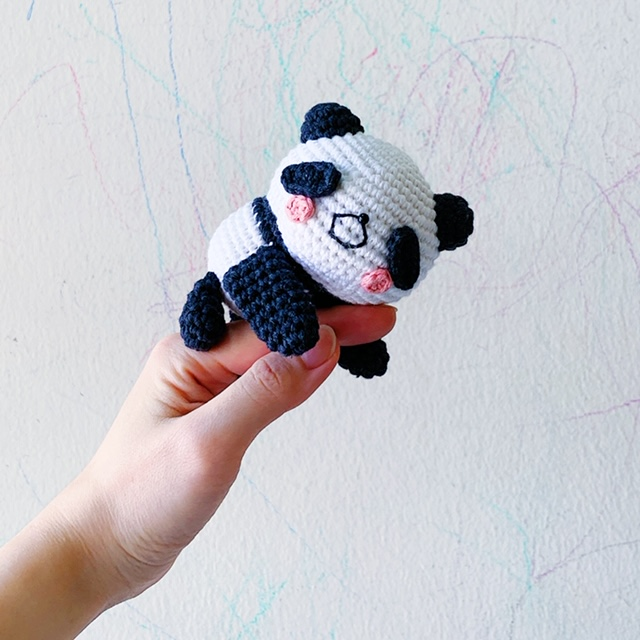 Patrón gratis amigurumi de oso panda - amigurumis y más | 640x640